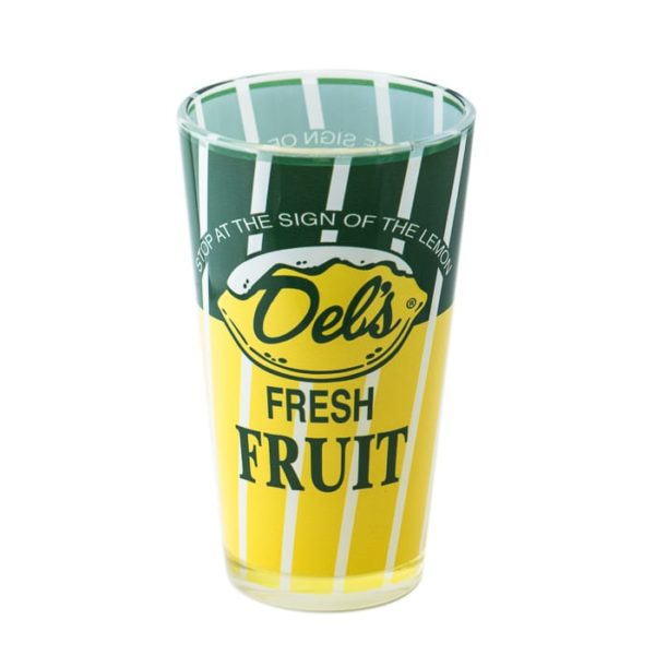 Glass Cup - Del's Lemonade - Blueflash Photography
