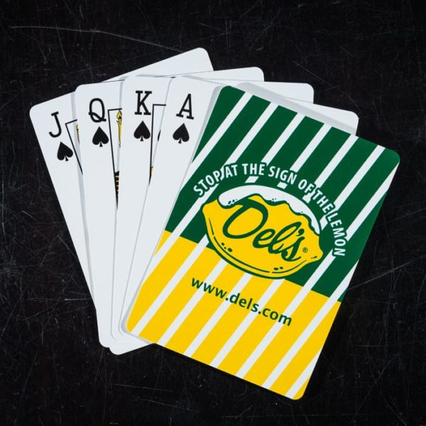 Playing Cards Hand - Del's Lemonade - Blueflash Photography