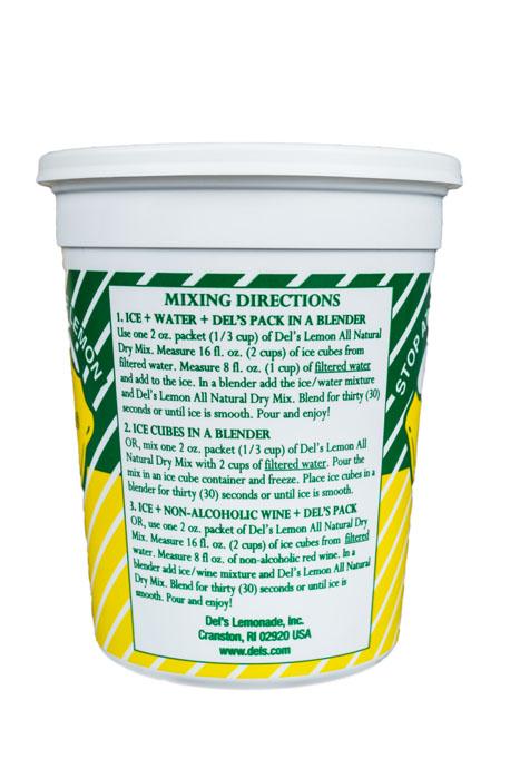 Del's Lemonade make at home mix instructions