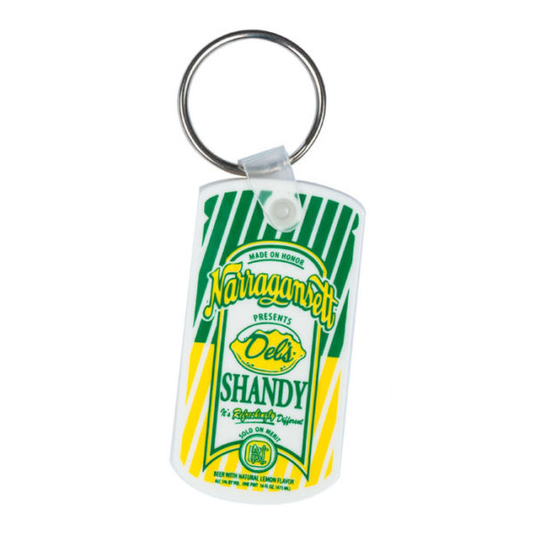 Del's Shandy keychain